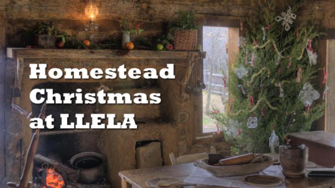Homestead Christmas at LLELA Lewisville @ Lewisville Lake Environmental Learning Area (LLELA)