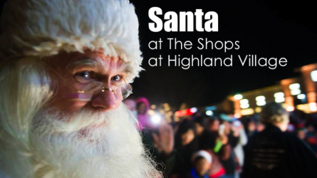 Santa at Shops at Highland Village