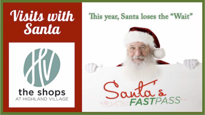 Visit Santa Highland Village @ The Shops at Highland Village | Highland Village | Texas | United States