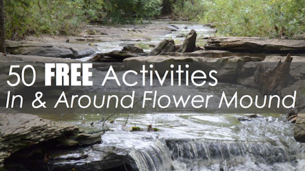 50 Free Activities In & Around Flower Mound