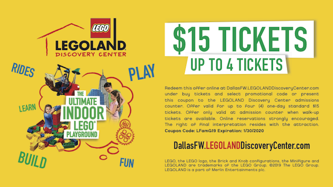 coupons for legoland discovery center dallas