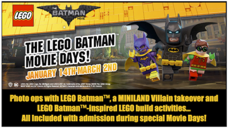 Lego Batman Movie Event at Legoland DFW