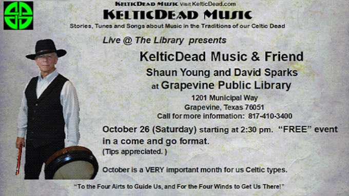 Live Music at Grapevine Library @ Grapevine Library
