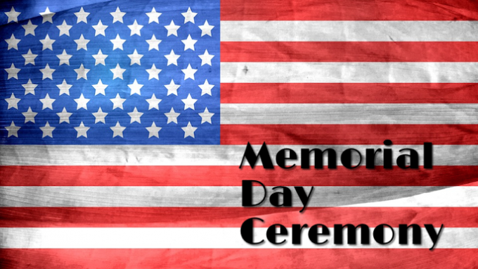 Image result for memorial day ceremony