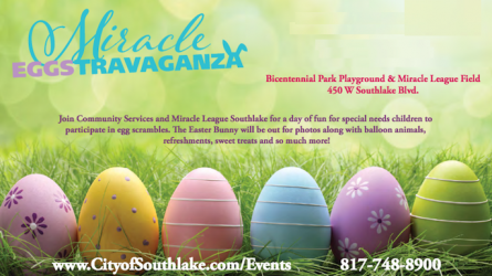 Special Needs Egg Hunt Southlake
