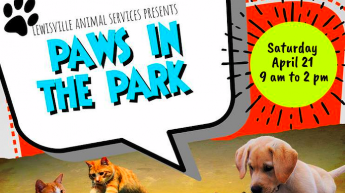Paws in the Park @ Lewisville Animal Adoption Center