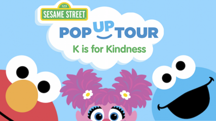 Sesame Street Pop Up Tour