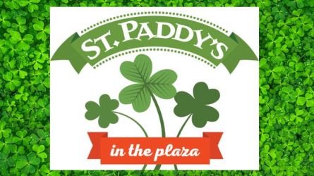 St Paddys in the Plaza
