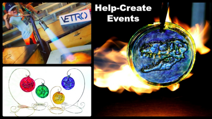 Glassblowing Help Make Event @ Vetro Glassblowing Studio | Grapevine | Texas | United States