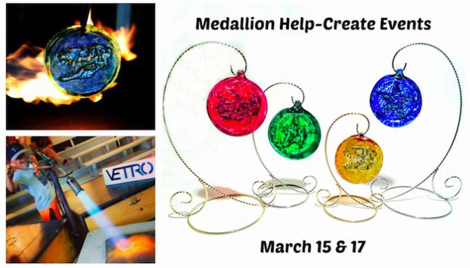 Vetro Glassblowing Spring Break Event