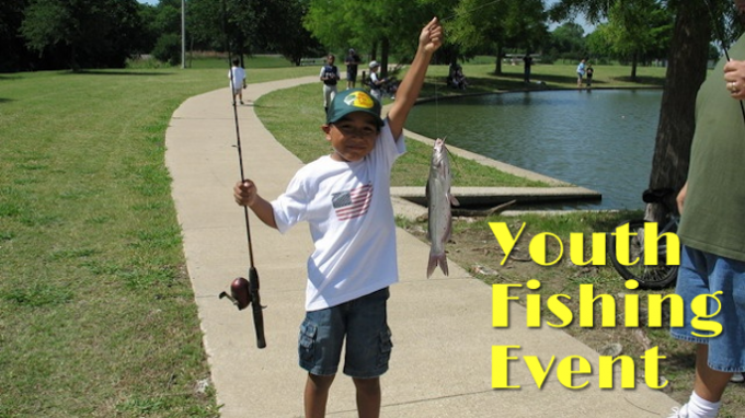 Youth Fishing Event Carrollton @ Josey Ranch Park Pond