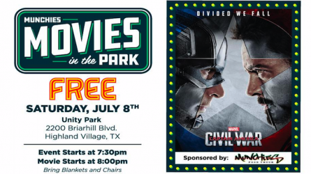 Movies in the Park Highland Village