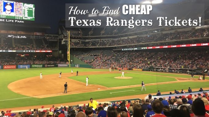 5 Tips: How To Get Cheap Texas Rangers Tickets *Use code TBA10MLB for $10 off your purchase of $50 or more* If you're like a lot of Texas Rangers fans, you want to buy tickets, but you don't want to break the bank. That's why we're recommending these top 5 money-saving tips to help you see the Rangers this summer. #1.