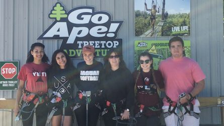 Zip Lining Dallas Go Ape Plano