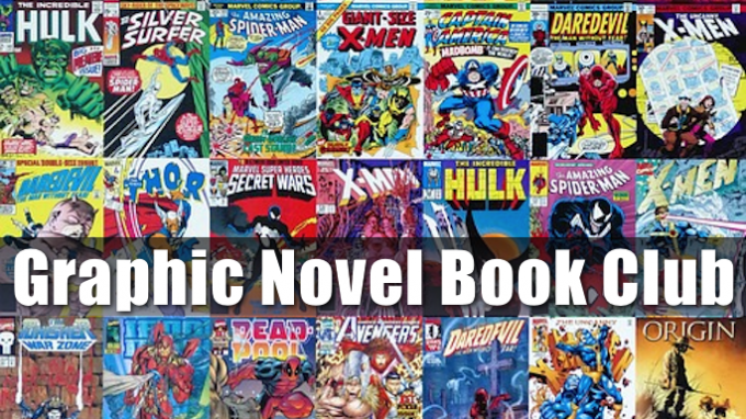 Graphic Novel Book Club @ Lewisville Library | Lewisville | Texas | United States
