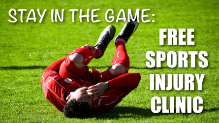 Free Sports Injury Clinic