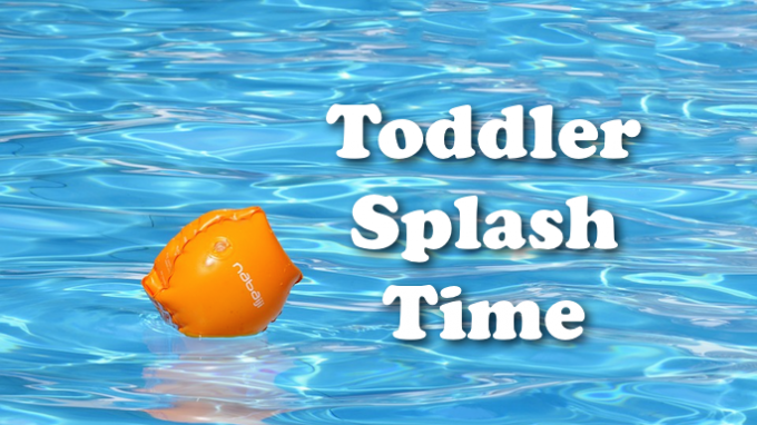 Toddler Splash Time @ Grapevine REC