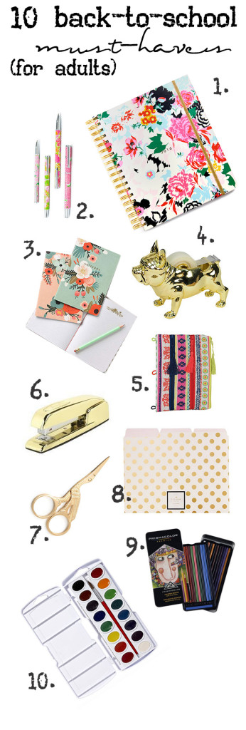 cute stationary supplies