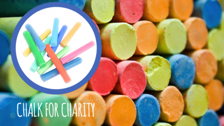 Chalk for Charity Grapevine