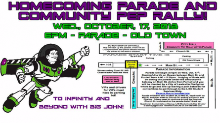 Lewisville Homecoming Events