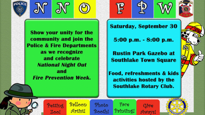 National Night Out Southlake @ Rustin Family Park