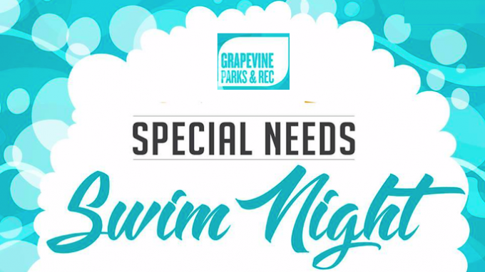 Special Needs Swim Night @ Grapevine REC | Grapevine | Texas | United States