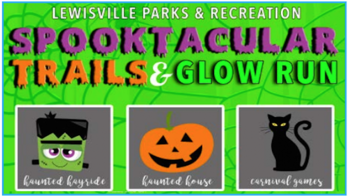Spooktacular Trails Lewisville @ Lone Star Toyota of Lewisville Railroad Park