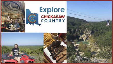 Chickasaw Country Oklahoma