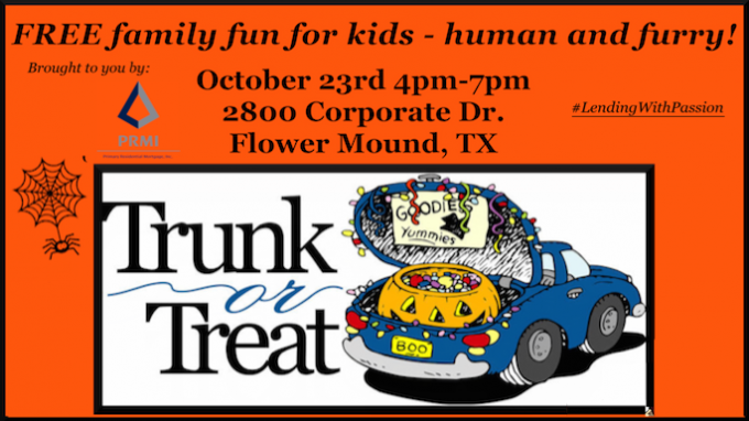 Primary Residential Mortgage Trunk or Treat @ Primary Residential Mortgage | Flower Mound | Texas | United States