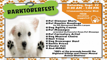 Barktoberfest Highland Village
