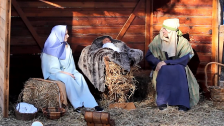 Free Live Nativity Hayride