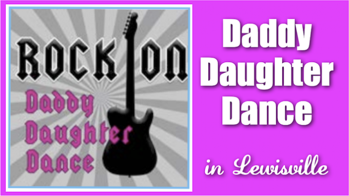 Daddy Daughter Dance in Lewisville @ Frederick P. Herring Rec Center