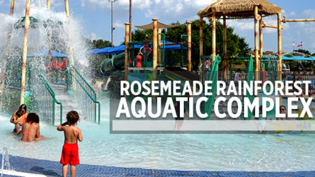 Carrollton Pools Rosemeade Rainforest Aquatic Center