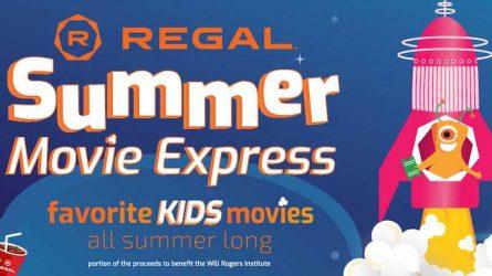 Regal Summer Movie Club