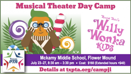 Texas PTA Musical Theater Camp