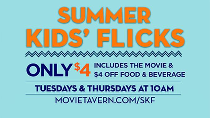 Movie Tavern Denton Summer Movie Club @ Movie Tavern Denton | Denton | Texas | United States