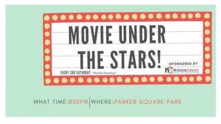 Outdoor Movie Parker Square