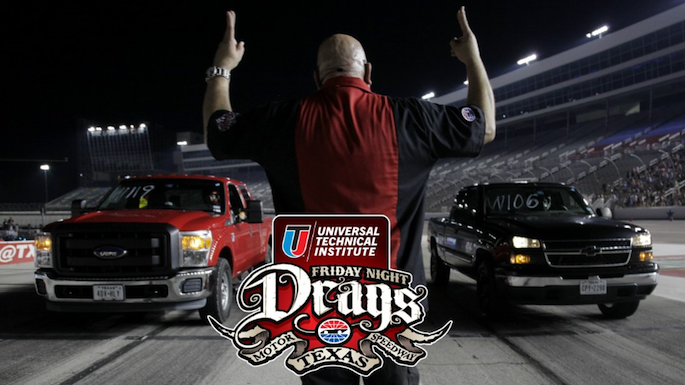 Friday night drags texas motor speedway family eguide for Motor age coupon code