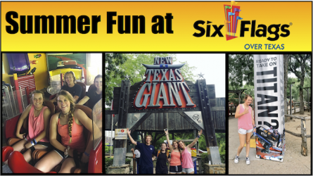 Summer Fun at Six Flags Over Texas