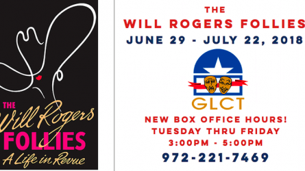 Will Rogers Follies On Stage