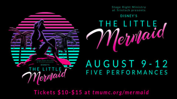 Little Mermaid Flower Mound @ Trietsch Memorial United Methodist Church