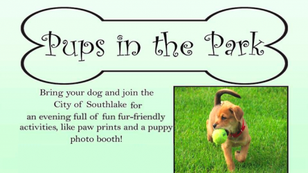 Pups in the Park Southlake