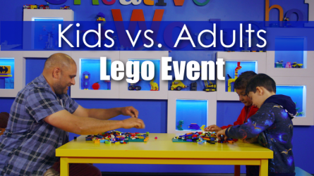 Legoland Kids vs Adult Challenge