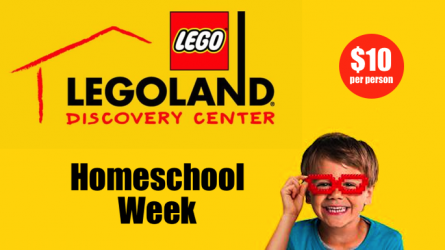 Homeschool Week Legoland Grapevine