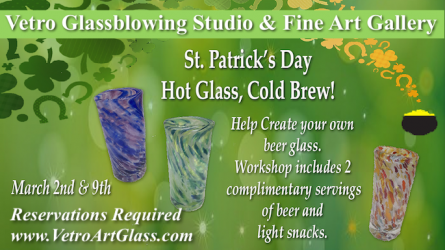 Vetro Glassblowing Event
