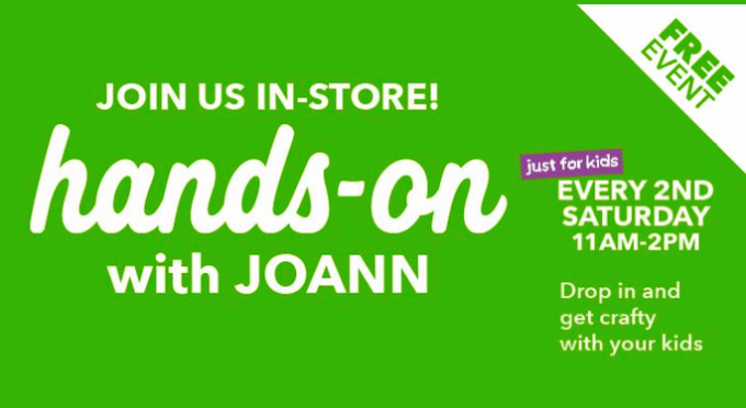 Kids Workshops JoAnn Fabric @ JoAnn Fabric | Lewisville | Texas | United States
