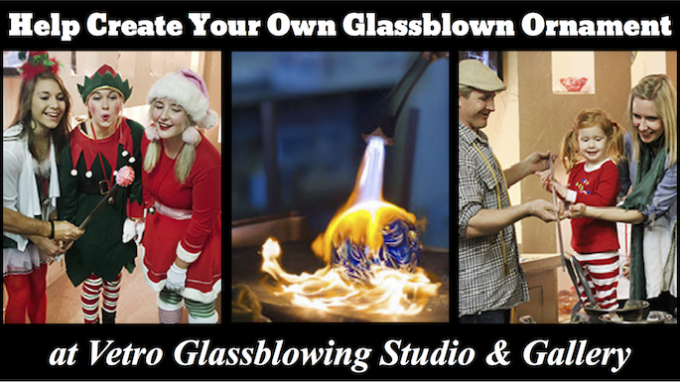 Help Create Glassblown Ornaments @ Vetro Glassblowing Studio & Gallery | Grapevine | Texas | United States