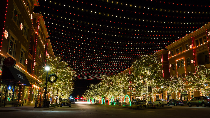 Christmas on the Square Frisco - Christmas Light Displays DFW Dallas Fort Worth - Family EGuide