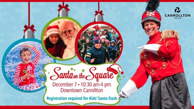 Santa on the Square in Carrollton @ Historic Downtown Carrollton