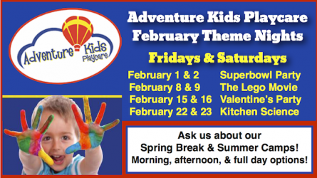 Adventure Kids Playcare Theme Nights